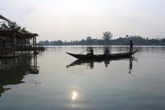 El viajar en barco en Bangkok Fotografía de archivo libre de regalías