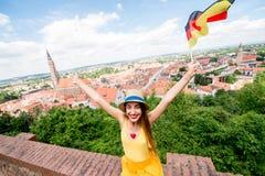El viajar en Landshut Imágenes de archivo libres de regalías