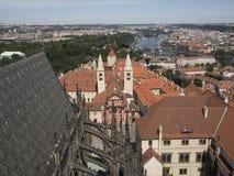El viajar en Praga Imagen de archivo libre de regalías