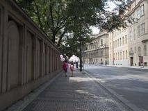 El viajar en Praga Imagenes de archivo