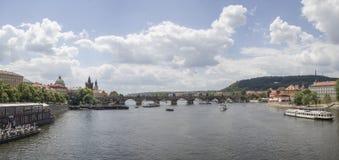 El viajar en Praga Imagen de archivo