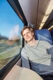 El viajar en tren Imagen de archivo libre de regalías