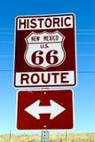 El viajar a lo largo de la ruta 66 Imágenes de archivo libres de regalías