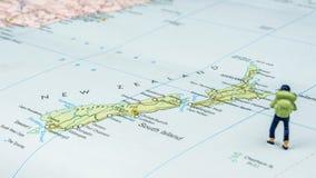 El viajar a Nueva Zelanda Fotografía de archivo libre de regalías