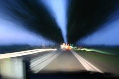 El viajar rápidamente Imagen de archivo