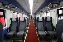 El viajar turístico del tren de pasajeros Foto de archivo libre de regalías