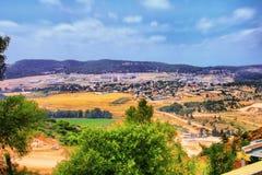 El viaje de la cueva de Soreq Avshalom en Israel Imagenes de archivo