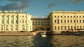 El viaje a través de St Petersburg Imagen de archivo libre de regalías