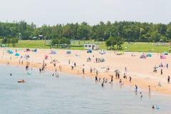El viaje turístico y se relaja en verano Imagen de archivo