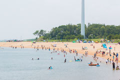 El viaje turístico y se relaja en verano Imagenes de archivo