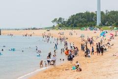 El viaje turístico y se relaja en verano Imágenes de archivo libres de regalías