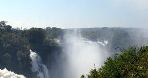 El Victoria Falls, Zimbabwe, África metrajes