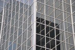 El vidrio cubrió el edificio Foto de archivo libre de regalías