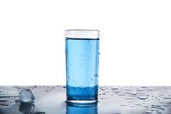 El vidrio de agua aisló Imagen de archivo libre de regalías