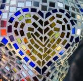 El vidrio de mosaico del color Imagen de archivo