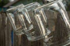 El vidrio sacude la sequedad Imagen de archivo