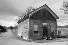 """El viejo †de la tienda rural del abandono """"Burkes el jardín, Virginia, los E.E.U.U. Imagen de archivo"""