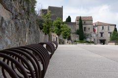 El viejo baux provencal de Provence de los les del pueblo imágenes de archivo libres de regalías