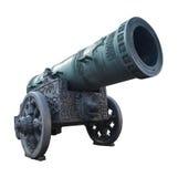 El viejo canon grande en Rusia aisló Fotografía de archivo