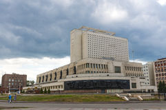 El viejo centro de Omsk Fotografía de archivo