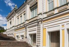 El viejo centro de Omsk Fotos de archivo libres de regalías