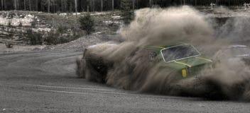 El viejo competir con de coche Fotos de archivo