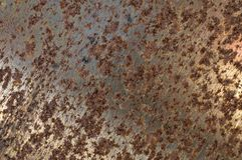 El viejo corte de madera oxidado consideró macro resistente fotos de archivo