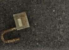 El viejo desbloquear de la llave Imagenes de archivo