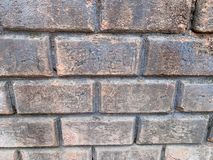El viejo fondo de la pared de ladrillo foto de archivo