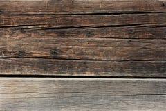 El viejo fondo de madera de la textura Imagenes de archivo