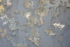 El viejo fondo gris de la pintura Fotografía de archivo