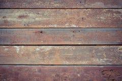 El viejo fondo pintado y que saltaba de madera del envejecimiento de paint fotografía de archivo
