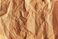 El viejo grunge arrugó la textura de papel. Fotos de archivo libres de regalías