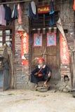 El viejo hombre yao Imágenes de archivo libres de regalías