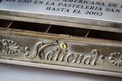 El viejo nacional 1905 de la caja registradora del año era tiro Fotografía de archivo