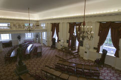 El viejo Pasillo de la casa de delegados Foto de archivo