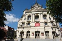 El viejo teatro. Imagenes de archivo