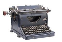 El viejo tipo programa de escritura Fotografía de archivo