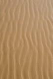 El viento barrió la arena Fotografía de archivo libre de regalías