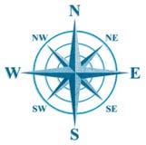 El viento subió. La muestra en los mapas viejos. Foto de archivo libre de regalías