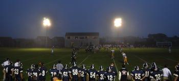 El viernes por la noche fútbol Imagenes de archivo