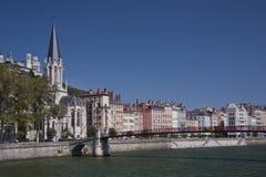 El vieux Lyon Fotografía de archivo libre de regalías