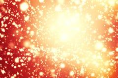 El vintage abstracto del brillo enciende el fondo Oro, marrón, rojo a Imagenes de archivo