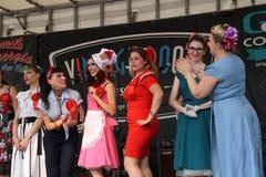 El vintage arraiga el giugno 2018 del al 24 de Inzago MI Italia dal 19 del festival Imagen de archivo