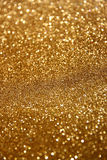 El vintage del brillo enciende el fondo Fondo abstracto del oro defocused Fotos de archivo