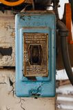 El vintage General Electric cambia - Indiana Army Ammunition Depot - Indiana abandonadas fotografía de archivo libre de regalías