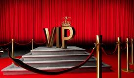 El VIP 3d rinde símbolo ilustración del vector