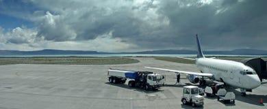 El volar apagado Foto de archivo libre de regalías