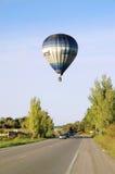 El volar encima Fotografía de archivo libre de regalías
