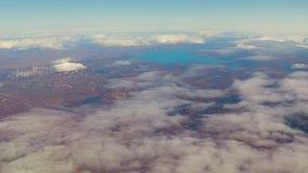El volar sobre Islandia